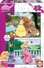 Puzzle Disney Hercegnők Educa 2x 48 db