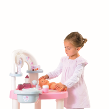 Domčeky pre bábiky sety - Set prebaľovací stôl pre bábiku Baby Nurse Srdiečko Smoby a kočík Maxi Cosi & Quinny 3v1 (70 cm rúčka)_7