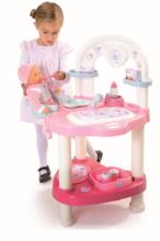 Domčeky pre bábiky sety - Set prebaľovací stôl pre bábiku Baby Nurse Srdiečko Smoby a kočík Maxi Cosi & Quinny 3v1 (70 cm rúčka)_2