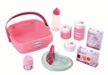 Domčeky pre bábiky sety - Set prebaľovací stôl pre bábiku Baby Nurse Srdiečko Smoby a kočík Maxi Cosi & Quinny 3v1 (70 cm rúčka)_10