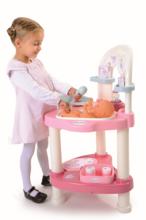 Domčeky pre bábiky sety - Set prebaľovací stôl pre bábiku Baby Nurse Srdiečko Smoby a kočík Maxi Cosi & Quinny 3v1 (70 cm rúčka)_3