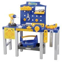Detská pracovná dielňa Mecanics Écoiffier skladacia od 18 mesiacov s 31 doplnkami