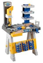 Pracovná dielňa pre deti Mecanics Écoiffier dvojramenná od 18 mesiacov so 40 doplnkami