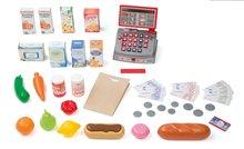 Obchody pre deti - Obchod City Shop Smoby s elektronickou pokladňou a vozíkom so 44 doplnkami_3