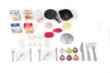 Kuchynky pre deti sety - Set kuchynka CookMaster Smoby so zvukmi a ľadom a obchod Supermarket s pokladňou_5
