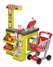 Kuchynky pre deti sety - Set kuchynka CookMaster Smoby so zvukmi a ľadom a obchod Supermarket s pokladňou_17