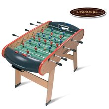 SMOBY 145400 Lésprit du jeu Profi csocsó asztal, fa és alumínium, teraflex felülettel,144*94*90 cm