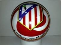 1329 Lopta Atletico Madrid gumová 150 mm