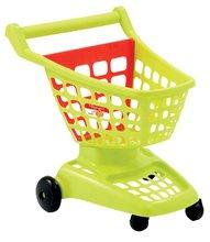 Nakupovalni voziček 100% Chef Écoiffier z odpirajočo stranjo zelen/rdeč od 18 mes