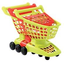 Obchody pre deti - Nákupný vozík 100% Chef Écoiffier s otvárateľnou stenou zelený/červený od 18 mes_0