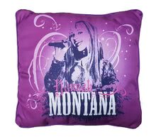 Hannah Montana purple kispárna Ilanit 36*36 cm