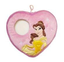 Blazina Princezná Belle srček s prostorčkom za fotografijo Ilanit 16*16 cm