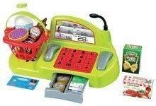 Obchody pre deti - Nákupný vozík 100% Chef Écoiffier s potravinami, pokladňou a 44 doplnkami od 18 mes_0