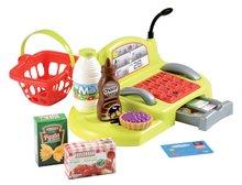 Obchody pre deti - Nákupný vozík 100% Chef Écoiffier s potravinami, pokladňou a 44 doplnkami od 18 mes_3