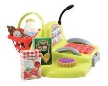 Obchody pre deti - Nákupný vozík 100% Chef Écoiffier s potravinami, pokladňou a 44 doplnkami od 18 mes_4
