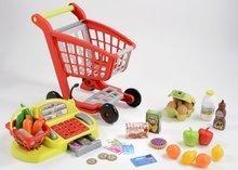 Obchody pre deti - Nákupný vozík 100% Chef Écoiffier s potravinami, pokladňou a 44 doplnkami od 18 mes_12