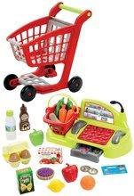 Obchody pre deti - Nákupný vozík 100% Chef Écoiffier s potravinami, pokladňou a 44 doplnkami od 18 mes_11