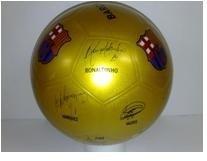 Futbalová lopta FC Barcelona Unice 22 cm hrubá guma