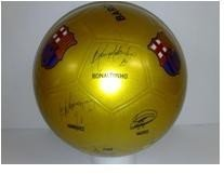 Futball labda FC Barcelona Unice 22 cm vastag gumi