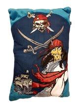 Blazina Pirati s Karibov Ilanit modra 40*25 cm
