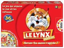 Joc de societate Le Lynx Junior Educa cu 36 de imagini în limba franceză