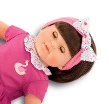 Hračky pre bábätká - Bábika Alice s hnedými vlasmi Mon Grand Poupon Corolle 36 cm s hnedými klipkajúcimi očami a hrebeňom od 3 rokov_2