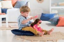 Hračky pre bábätká - Bábika Alice s hnedými vlasmi Mon Grand Poupon Corolle 36 cm s hnedými klipkajúcimi očami a hrebeňom od 3 rokov_3