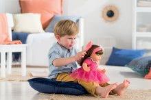 Hračky pre bábätká - Bábika Alice s hnedými vlasmi Mon Grand Poupon Corolle 36 cm s hnedými klipkajúcimi očami a hrebeňom od 3 rokov_4