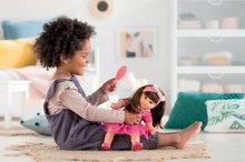Hračky pre bábätká - Bábika Alice s hnedými vlasmi Mon Grand Poupon Corolle 36 cm s hnedými klipkajúcimi očami a hrebeňom od 3 rokov_5