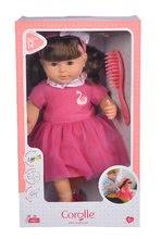 Hračky pre bábätká - Bábika Alice s hnedými vlasmi Mon Grand Poupon Corolle 36 cm s hnedými klipkajúcimi očami a hrebeňom od 3 rokov_7