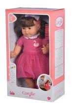 Hračky pre bábätká - Bábika Alice s hnedými vlasmi Mon Grand Poupon Corolle 36 cm s hnedými klipkajúcimi očami a hrebeňom od 3 rokov_8