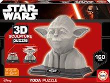 EDUCA 16501 3D SCULPTURE szobor puzzle - STAR WARS Yoda