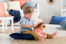 Hračky pre bábätká - Bábika Ambre s ryšavými vlasmi Mon Grand Poupon Corolle 36 cm s hnedými klipkajúcimi očami a hrebeňom od 3 rokov_3