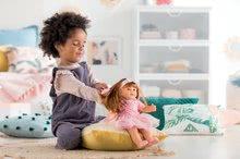 Hračky pre bábätká - Bábika Ambre s ryšavými vlasmi Mon Grand Poupon Corolle 36 cm s hnedými klipkajúcimi očami a hrebeňom od 3 rokov_4
