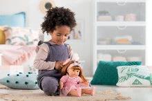 Hračky pre bábätká - Bábika Ambre s ryšavými vlasmi Mon Grand Poupon Corolle 36 cm s hnedými klipkajúcimi očami a hrebeňom od 3 rokov_6