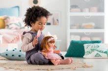 Hračky pre bábätká - Bábika Ambre s ryšavými vlasmi Mon Grand Poupon Corolle 36 cm s hnedými klipkajúcimi očami a hrebeňom od 3 rokov_7