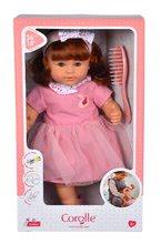 Hračky pre bábätká - Bábika Ambre s ryšavými vlasmi Mon Grand Poupon Corolle 36 cm s hnedými klipkajúcimi očami a hrebeňom od 3 rokov_8
