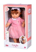 Hračky pre bábätká - Bábika Ambre s ryšavými vlasmi Mon Grand Poupon Corolle 36 cm s hnedými klipkajúcimi očami a hrebeňom od 3 rokov_9