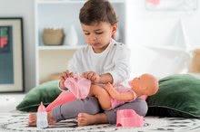 Bábiky od 24 mesiacov - Bábika Emma pije ciká a kúpe sa Mon Grand Poupon Corolle 36 cm s modrými klipkajúcimi očami a 3 doplnky od 24 mes_13