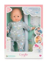 Panenky od 24 měsíců - Panenka novorozenec My New Born Child Mon Grand Poupon Corolle 36 cm s modrými mrkacími očima od 24 měs_12
