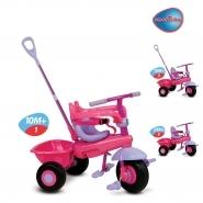 Triciclete de la 10 luni - Tricicletă Uno smarTrike roz-mov de la 10 luni_0