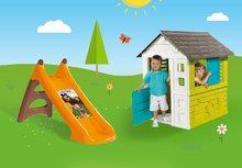 Šmykľavky s domčekom - Set šmykľavka Smoby Toboggan XS dĺžka 90 cm a domček Pretty Blue od 24 mes_14
