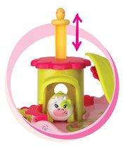 Garáže - Domček Sweet Planet Smoby elektronický kvetinový so zvieratkom na kolieskach dĺžka 7 cm od 18 mes_2