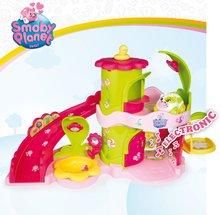 Garáže - Domček Sweet Planet Smoby elektronický kvetinový so zvieratkom na kolieskach dĺžka 7 cm od 18 mes_3