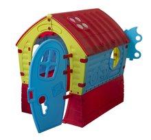 Domčeky pre deti - Domček Fairies Dream House PalPlay červeno-modrý od 24 mes_7