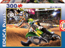 Puzzle Junior Motocross Educa 300 db 8 évtől
