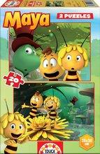 Puzzle pre deti Včielka Maja Educa 2x20 dielov