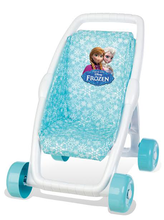 Detský kočík pre bábiku Frozen Smoby bugina (49 cm rúčka) od 18 mesiacov