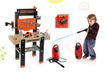 SMOBY 360701-5 set detská pracovná dielňa s vŕtačkou Black+Decker a wapka Black&Decker