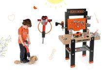 SMOBY 360701-6 set detská pracovná dielňa s vŕtačkou Black+Decker a elektronická zbíjačka Black&Decker